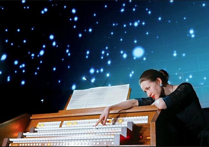 Концерт «Теория большого Баха» в Киевском планетарии