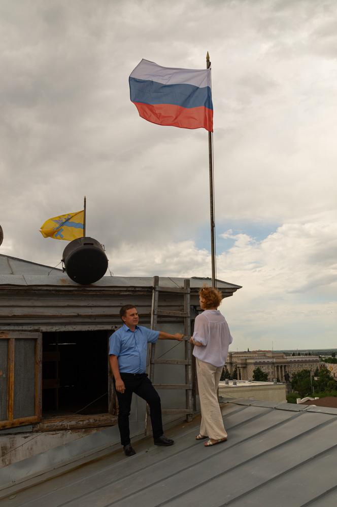 Если с флагами что-то не так, значит нужно выбраться на крышу и все поправить