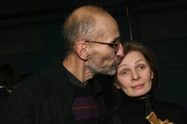 Петр Мамонов с женой Ольгой.