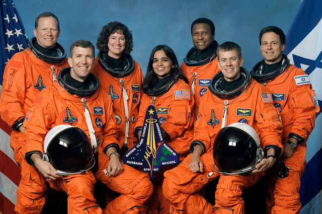 Последний экипаж шаттла Колумбия