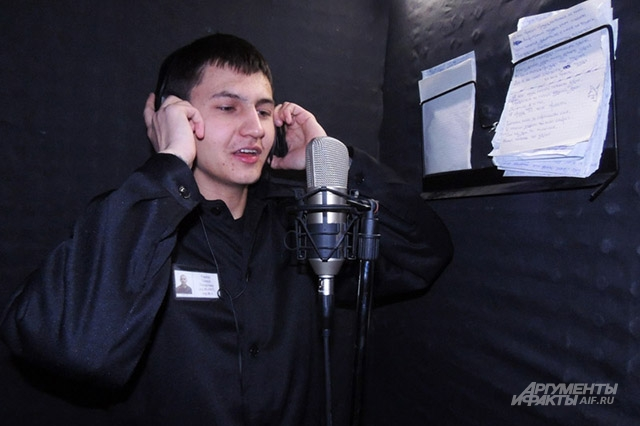 Тимур Гареев работает в исправительной колонии звукорежиссёром