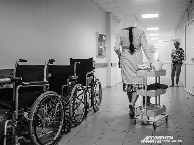 Ольга посвящает уходу за больными практически все свободное время.