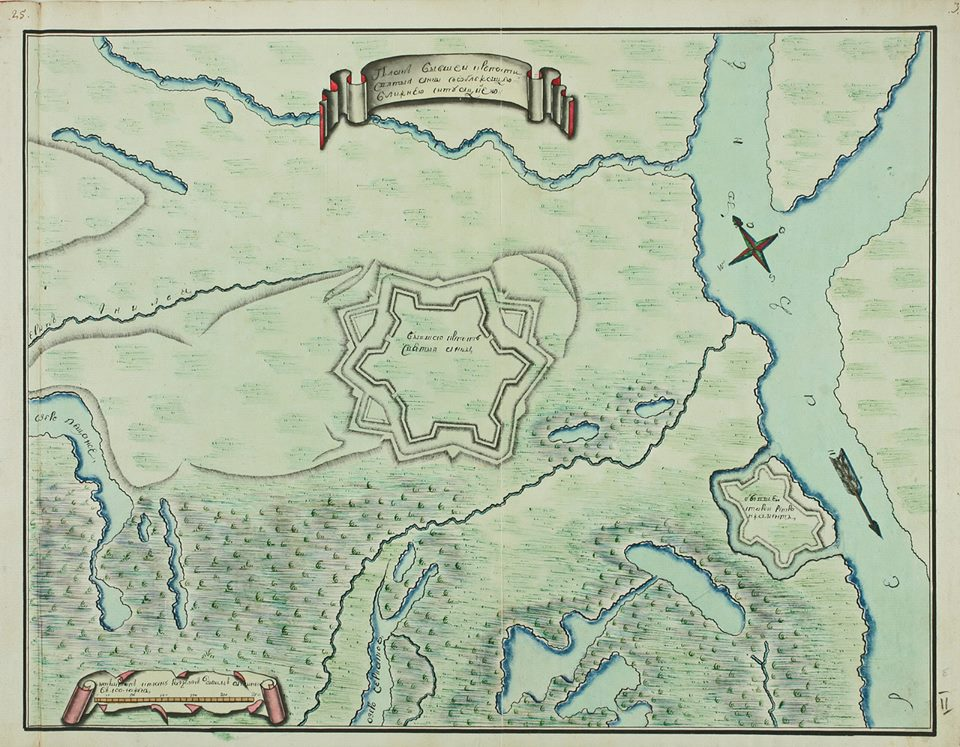 площадка под Старочеркасском расположена внутри периметра крепости Святой Анны.