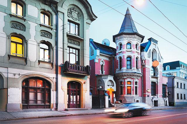 Москва. Улица Остоженка, 2014 год