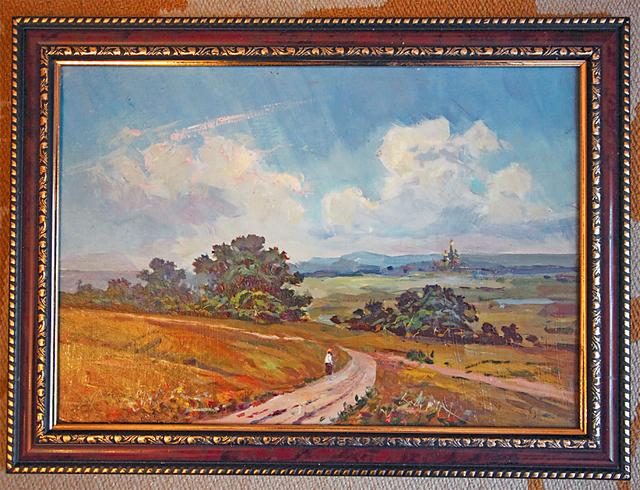 Картина «Дорога к храму» – образец реализма в живописи.