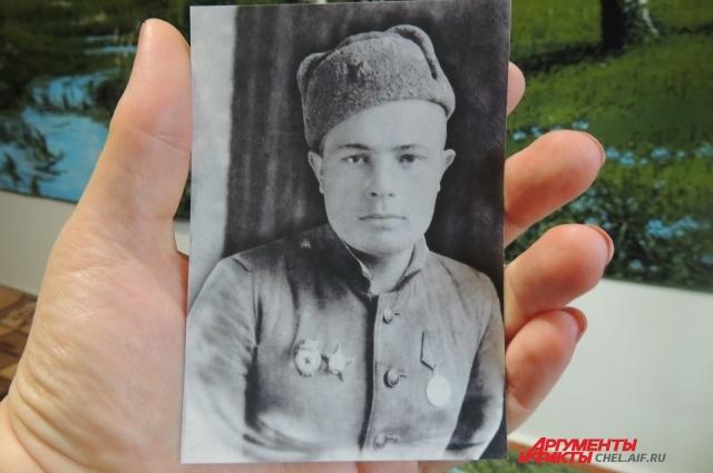 Таким ветеран встретил День Победы в 1945 году.