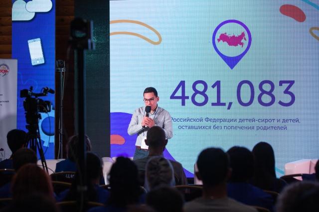 Альберт Сарбалаев, председатель Всероссийского Содружества выпускников детских домов.