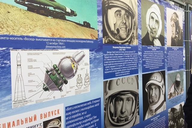 В Ставрополе работают две выставки под открытым небом, посвящённые космонавтике.