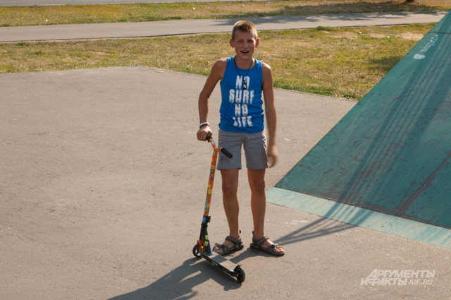 13-летний Даниил приезжает в Бирюлёво покататься