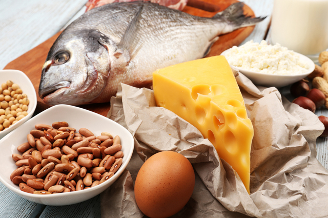 еда, рыба, сыр, яйцо