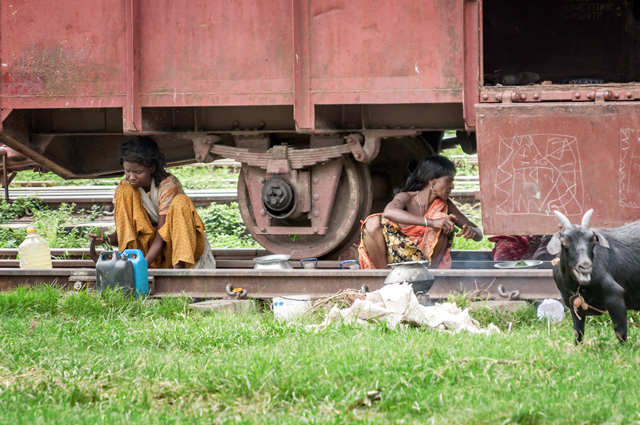 Трущобы Бангладеш