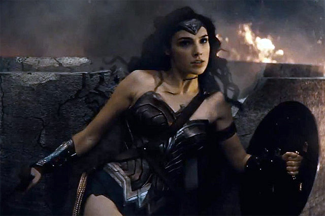 Галь Гадот в фильме «Бэтмен против Супермена»