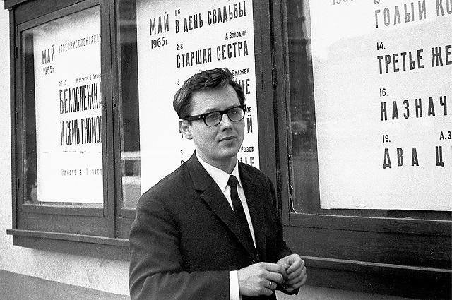 «Олега Табакова я снимал в 1965 г., в день, когда у меня родился сын. Табаков поздравил, сказав: «У меня у самого маленький ребёнок».