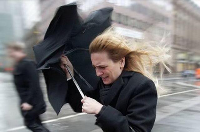 Плохая погода - результат влияния циклона.