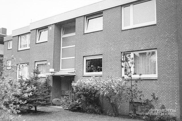 Дом семьи Руста в Гамбурге, 1989 год.