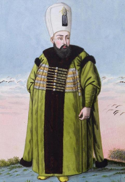 Джон Янг: портерт султана Ибрагима I.