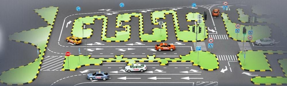 На автодроме могут одновременно практиковаться до 40 человек.