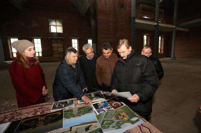 В строящемся Воскресенском соборе Уфы состоялось совещание с участием Сергея Веремеенко
