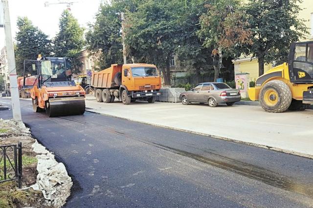 Работы по реконструкции центральной части города скоординировали с планом благоустройства к 300-летию Перми.