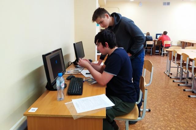 Задания на чемпионате даются сложнее, чем могут выполнить участники за отведённое время.