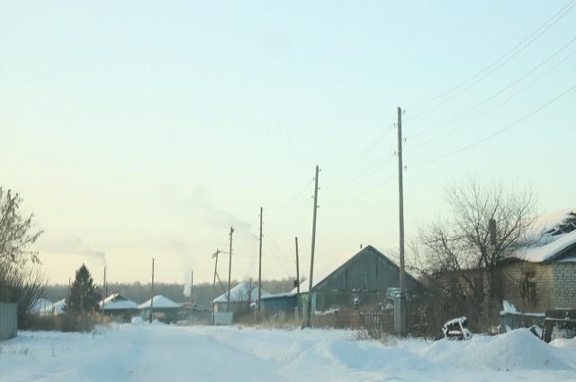 Деревня Крупинина.