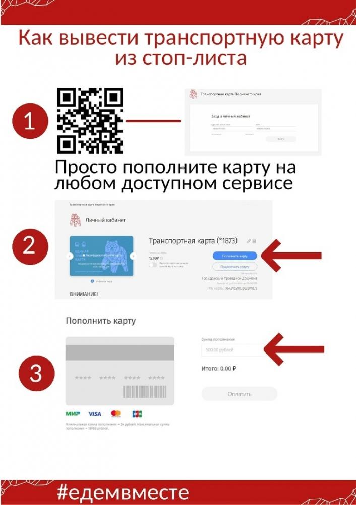 Инструкция, подготовленная департаментом транспорта.