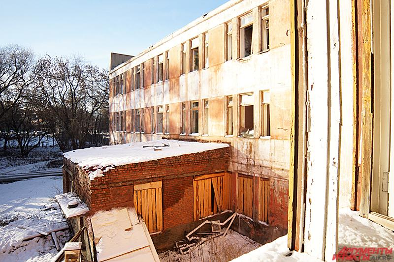 Здание поликлиники за два года несколько раз горело