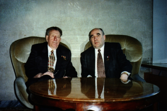 С Владимиром Уткиным, 2005 год.