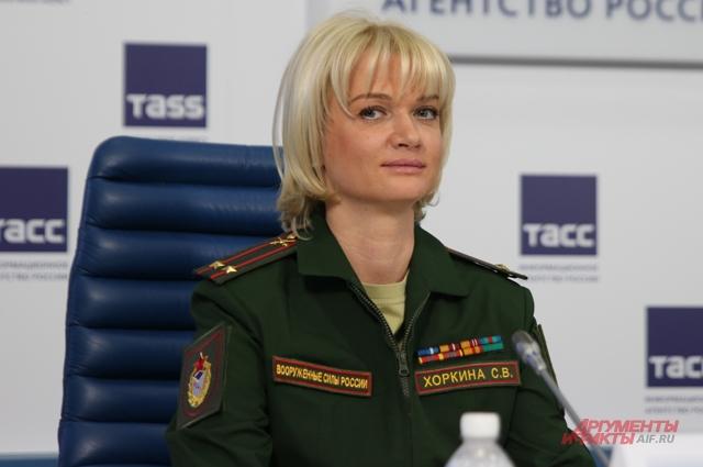 Светлана Хоркина, 2-кратная олимпийская чемпионка, замначальника ЦСКА
