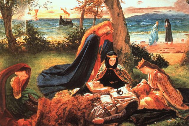 Смерть короля Артура. Джеймс Арчер.