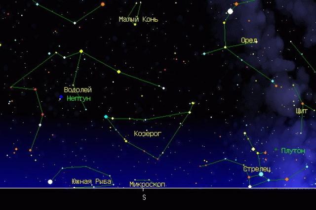 Каприкорниды можно найти у созвездия Козерога.