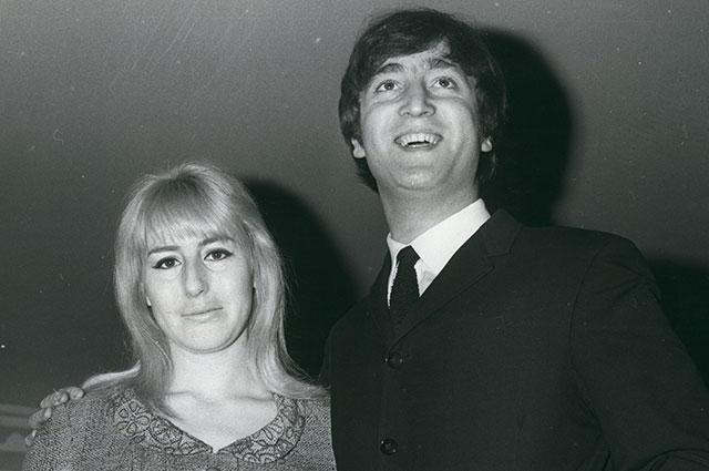 Джон и Синтия Леннон.