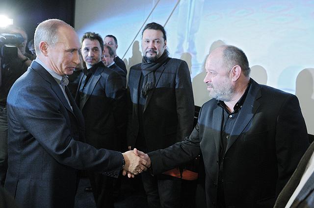 Владимир Путин и Владимир Ильин. 2011 год.