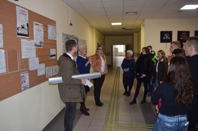 Ребятам показали видео-презентацию опорного университета Новосибирска и инклюзивных образовательных программ.