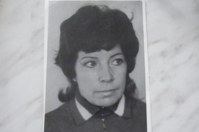 Лилия Дерябина в молодости.