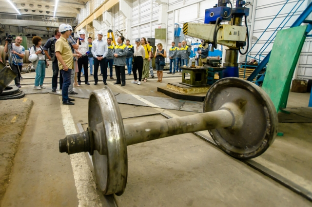 «УралПромМаш» изготавливает колёсные пары для внутренних потребностей «Оренбургских минералов».