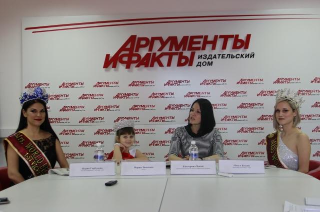 Нурия Горбунова, Мария Зинченко, Екатерина Чопей и Ольга Жукова.