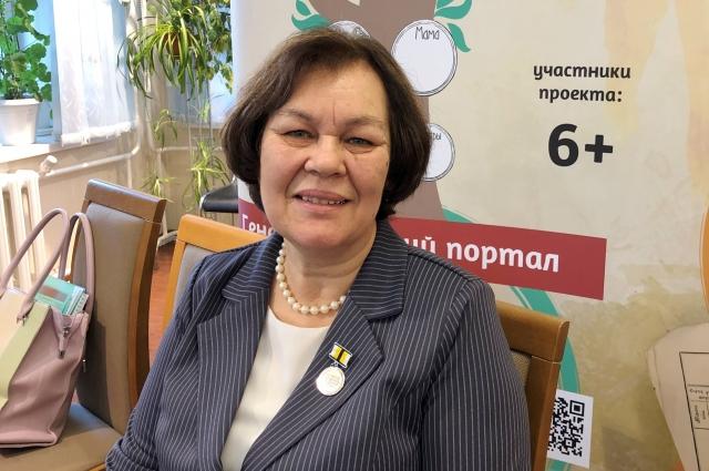 Лидия Михайловна - активный и творческий человек