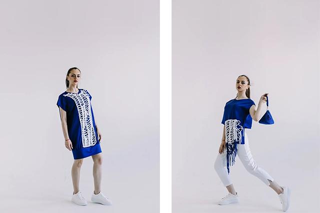 Одежда из коллекции Полины Воробьевой.