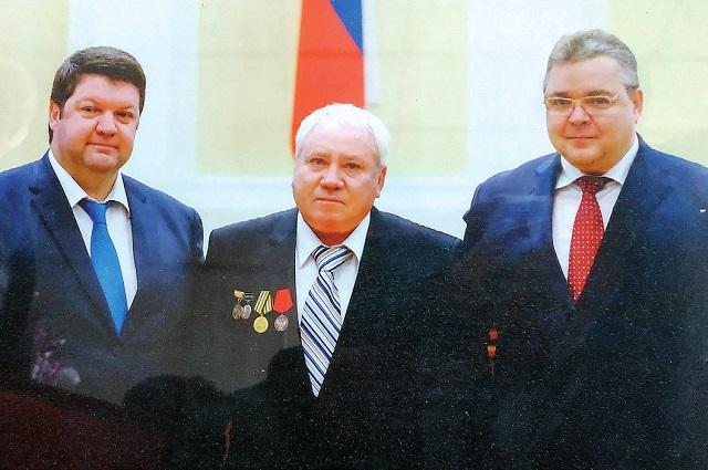 Александру Толокнёву вручили медаль