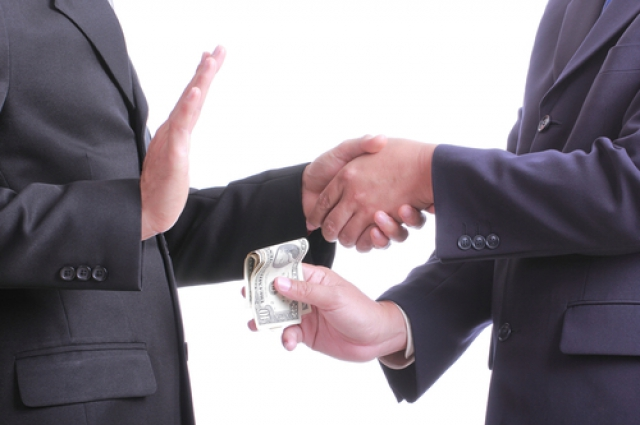 Коррупция, взятка