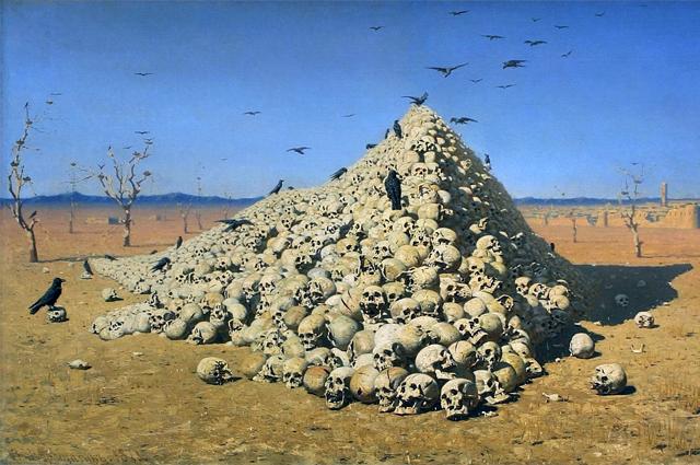 Василий Верещагин Апофеоз войны. 1871
