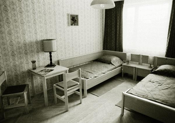 Жилые помещения для спортсменов на Олимпиаде в Москве. 1978 год