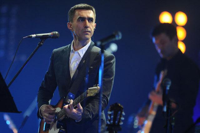 Рок-музыкант Вячеслав Бутусов
