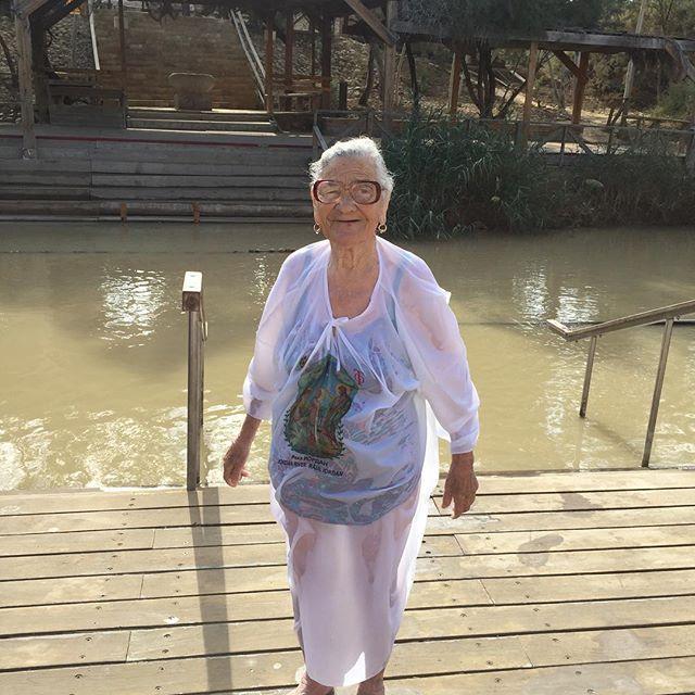 Баба Лена в Израиле.