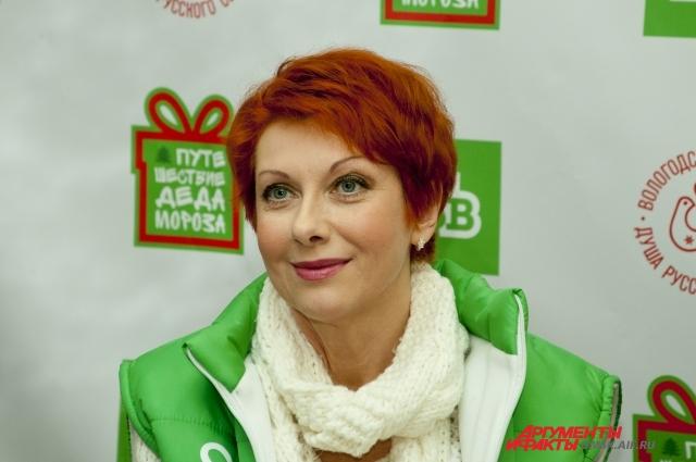 Роль Снегурочки выполнила актриса Оксана Сташенко.
