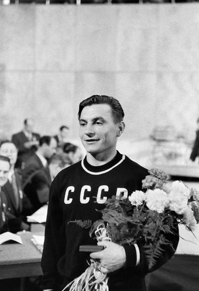 Иван Удодов на XV Летних Олимпийских играх в Хельсинки.