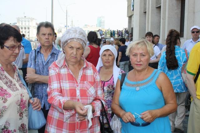 Жительница Казани Альфира Гарипова (крайняя справа):