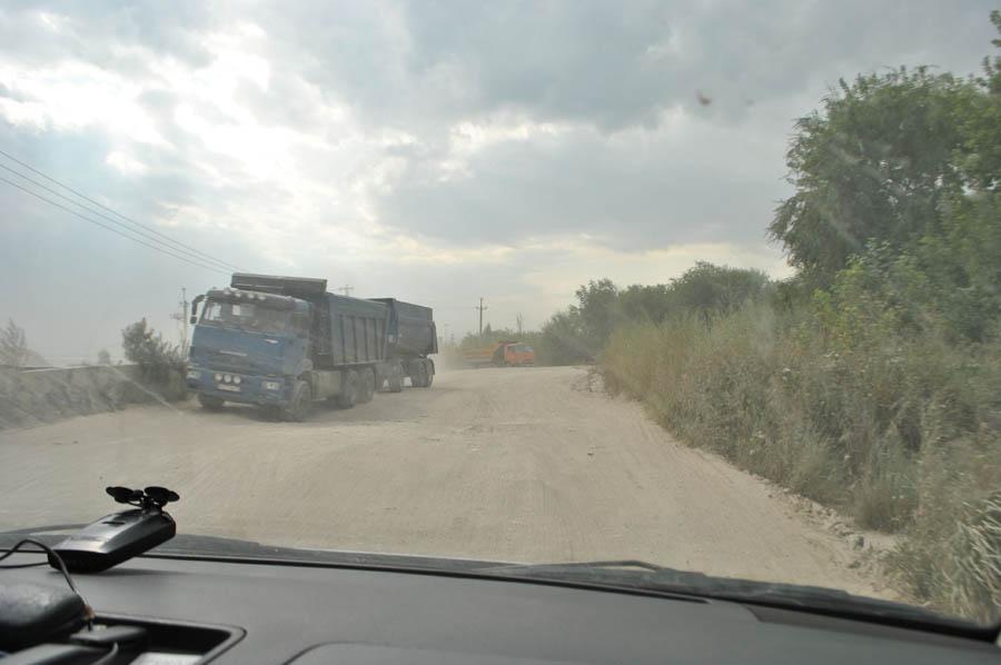 Дорога на Нагорной похожа на этап экстремального ралли.
