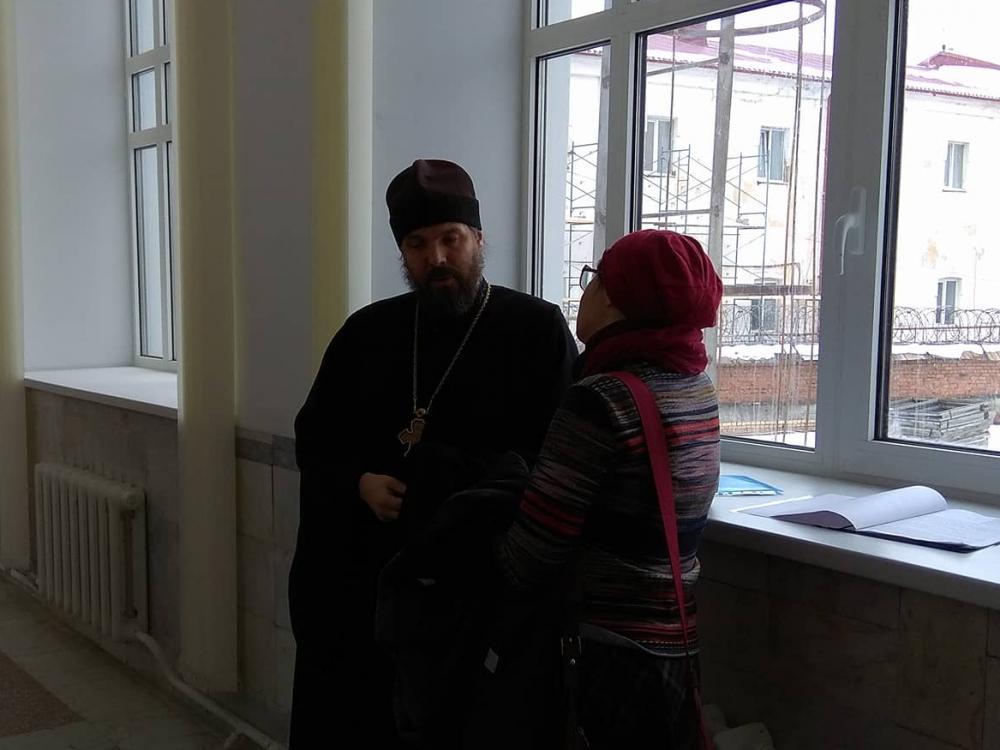 Отец Евгений Попиченко сожалеет, что его слова были неправильно восприняты ветераном.